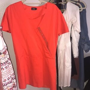 Kate spade blood orange shift dress